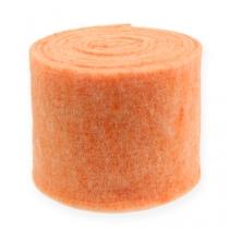 Viltlint oranje 15cm 5m