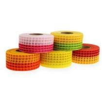 Grid tape 4,5 cm x 10 m tweekleurige 5 rollen