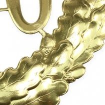 Verjaardag nummer 70 in goud Ø40cm