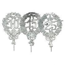 Jubileumnummers zilver