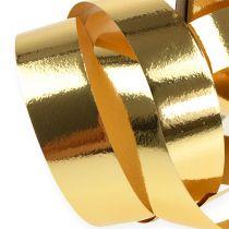 Lint glanzend 19mm 100m goud