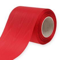 Krans lint rood 100mm 25m