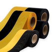 Kranslinten moiré geel-zwart