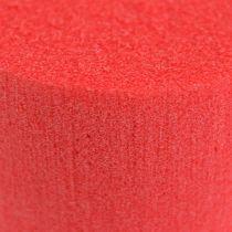 Cilinder Ø8cm rood 6st