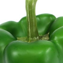 Decoratieve paprika groen 9cm