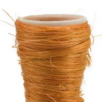 Puntvaas Sisal Oranje Ø4.5cm L60cm 5st