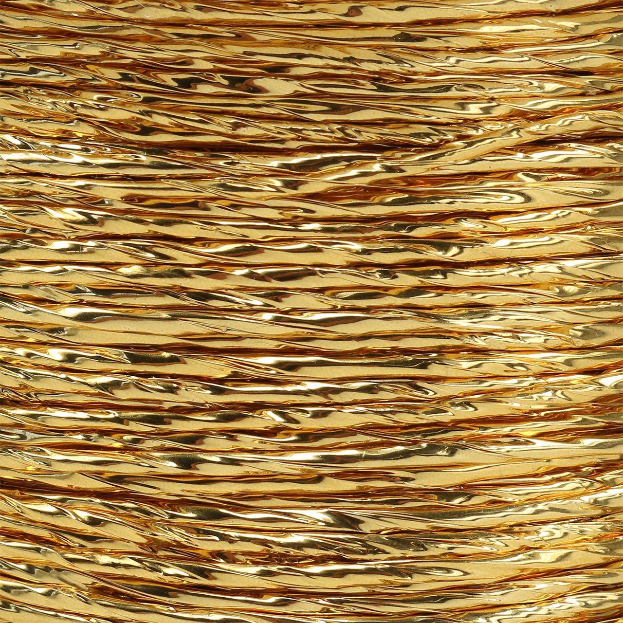 Draad gewikkeld in goud Ø2mm 100m