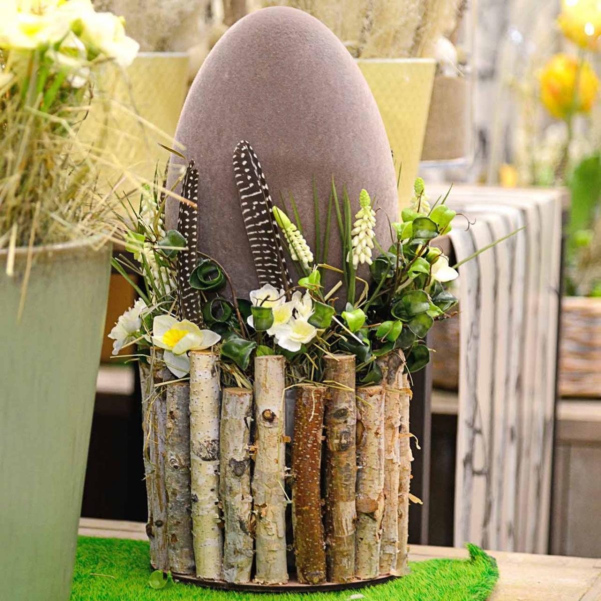 Paasei stroomden H25cm Gekleurde eieren Paasdecoratie