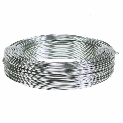 Aluminiumdraad 2mm 1kg zilver