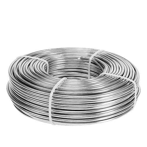 Aluminiumdraad 3 mm 1 kg zilver