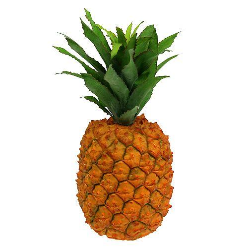 Ananas kunstmatig 21cm oranje