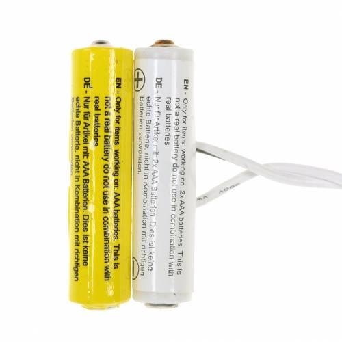 Batterij adapter wit 3m 3V 2 x AAA