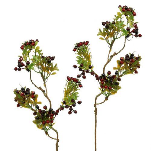 Kunstbessentak Cotoneaster Rood 50cm 2st