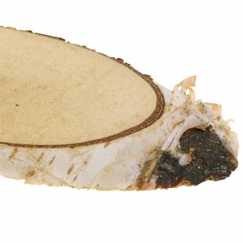 Berkenplakken Ovaal Natuurlijk 4×8cm 1kg