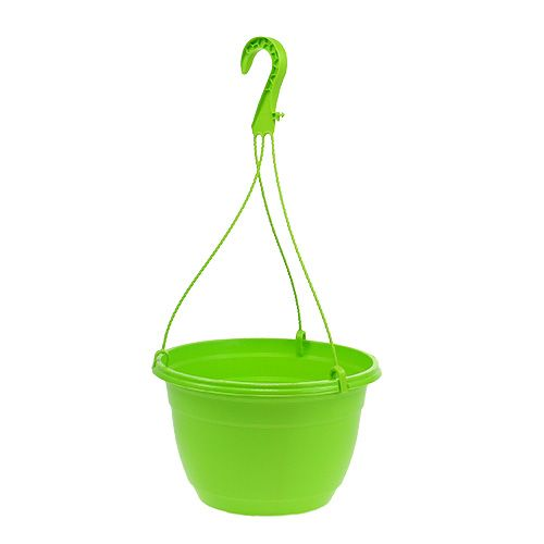 Hanging basket 25cm groen