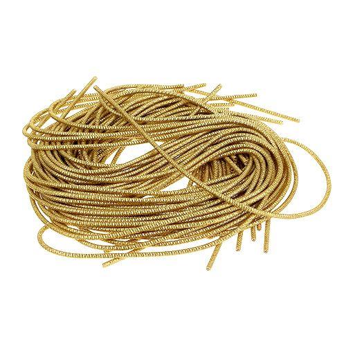 Bouillon draad Ø2mm 100g goud