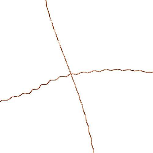 Bouilloneffect draad 100g koper