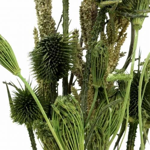 Wildbloemboeket naturel groen 25-60cm 70g