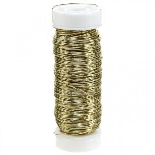 Decoratief geëmailleerd draad Ø0.30mm 30g / 50m goud