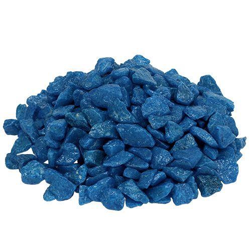 Sierstenen 9mm - 13mm donkerblauw 2kg