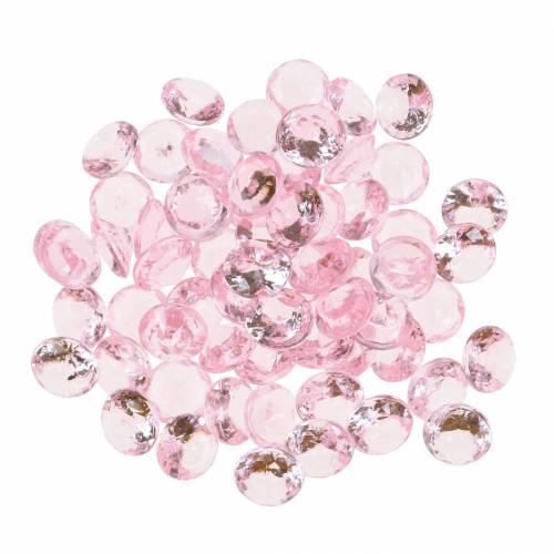 Decoratieve Stenen Diamant Acryl Licht Roze O1 2cm 175g Voor Verjaardag Decoratie 630225 21 Koop Goedkoop Online