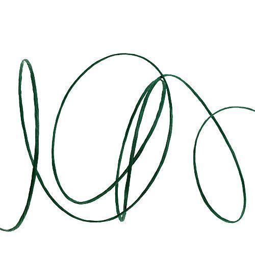 Draad gewikkeld in 50m groen