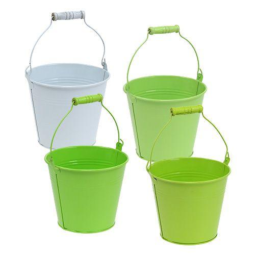 Emmer groen mix Ø14cm H12cm 6st