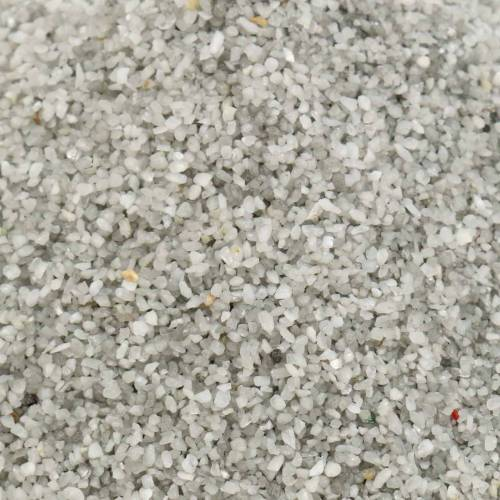 Kleur zand 0,1-0,5 mm grijs 2 kg