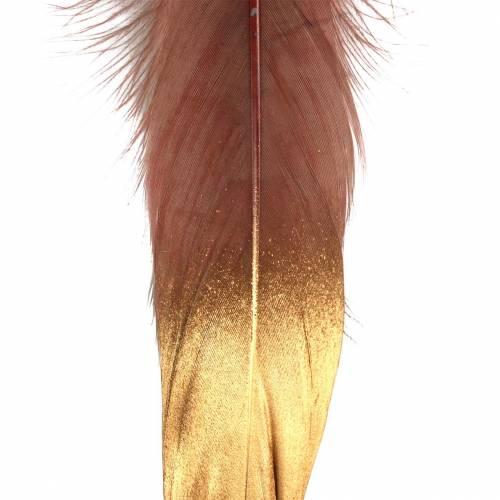Veren bordeaux, goud 18-23cm 24st