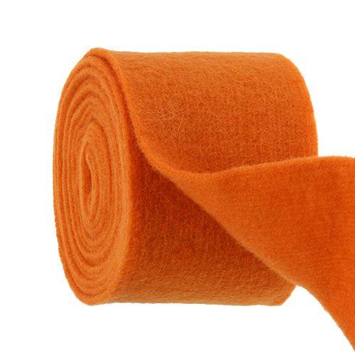 Viltlint 15 cm x 5 m oranje