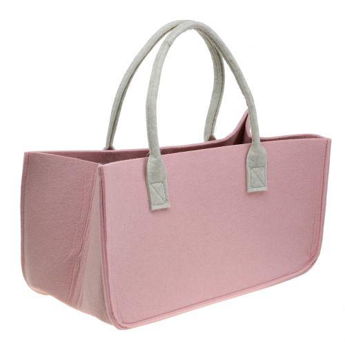 Viltentas roze 50cm x 25cm x 25cm