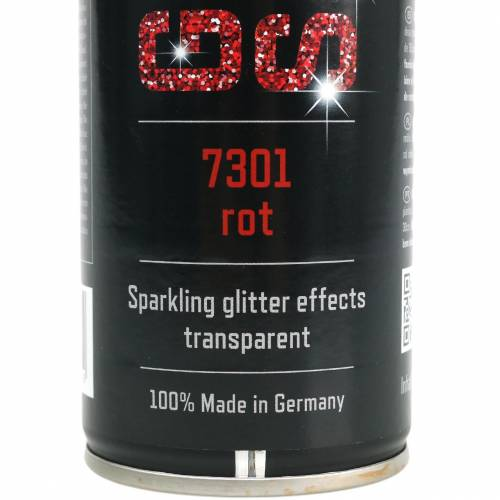 Glitter spray rood 400ml