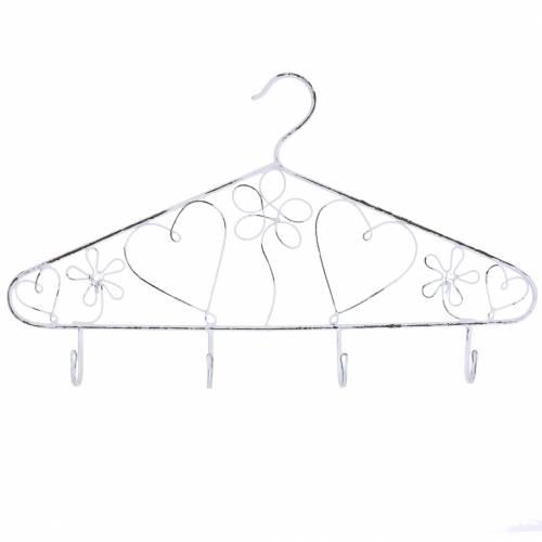 Decoratieve hanger met haken Vintage 40cmx23cm