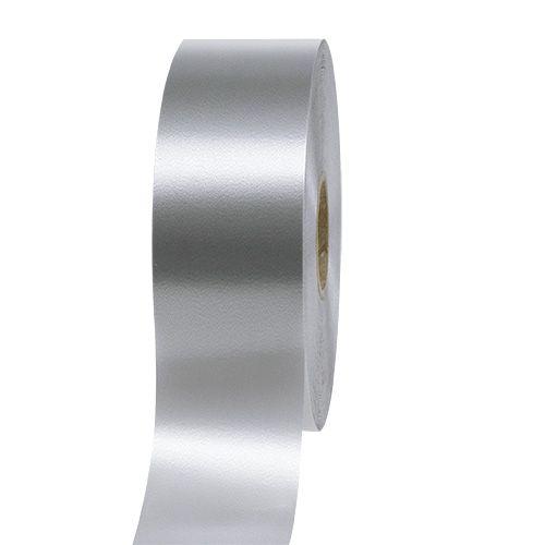 Cadeaulint zilver 50mm 100m