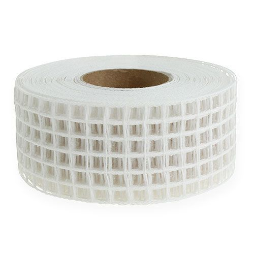 Grid tape 4,5 cm x 10 m wit