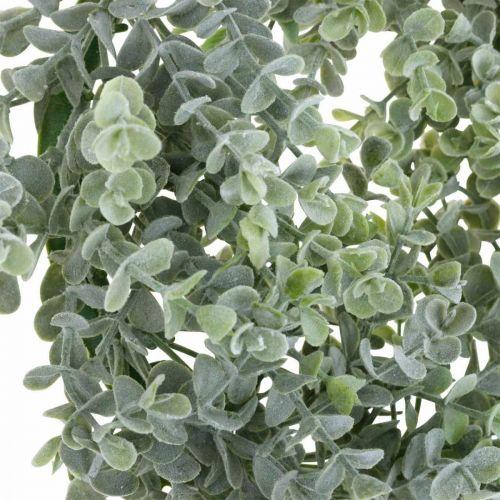 Bruiloftsdecoratie eucalyptuskrans kunstmatig Ø25cm