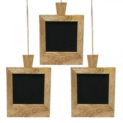Mini decobord om de natuur op te hangen 9×13cm 3st