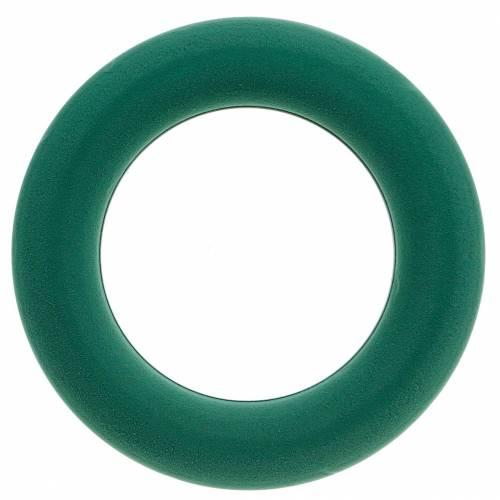 OASIS® steekschuim kransring groen H3cm Ø25cm 6st
