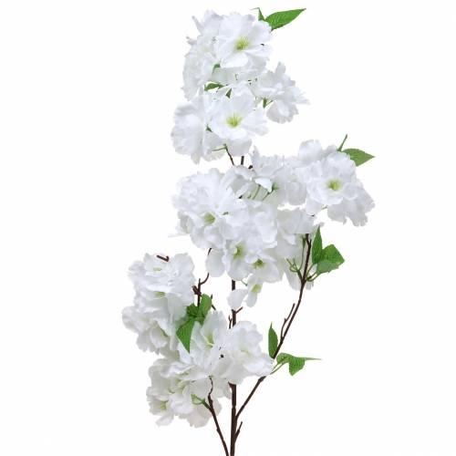 Kersenbloesemtak wit kunstmatig 103 cm