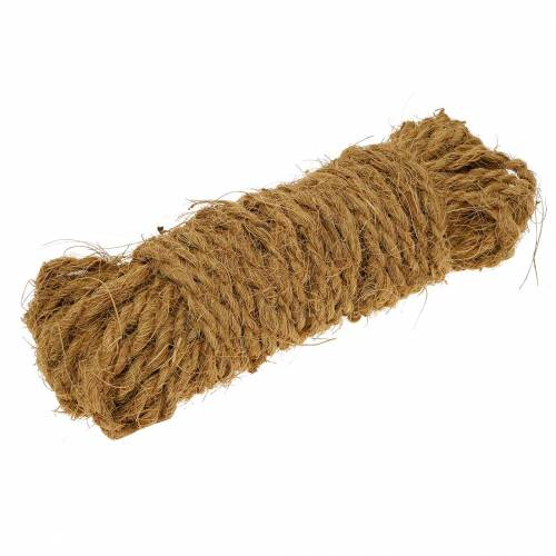 Kokos touw naturel Ø4mm 15m