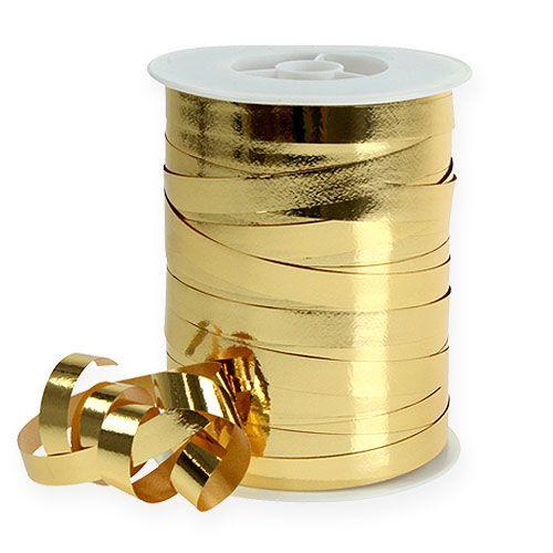 Lint glanzend 10mm 250m goud