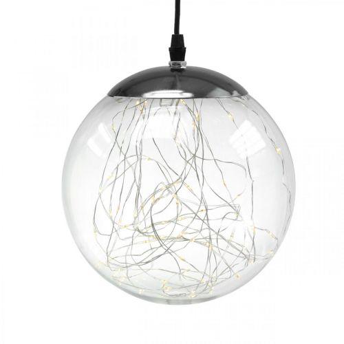 LED bal groot binnen en buiten Ø20cm helder 80L warm wit