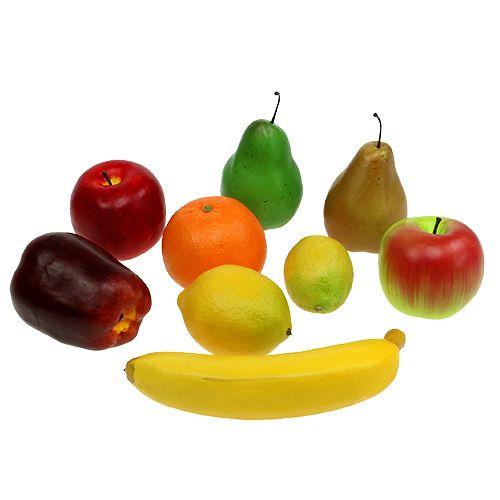 Kunstmatige fruitmix op het net