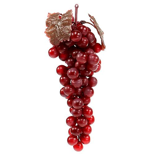 Kunstfruit rode druiven 22cm