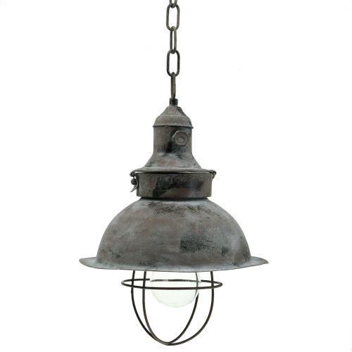 Antieke hanglamp Ø22cm H33cm