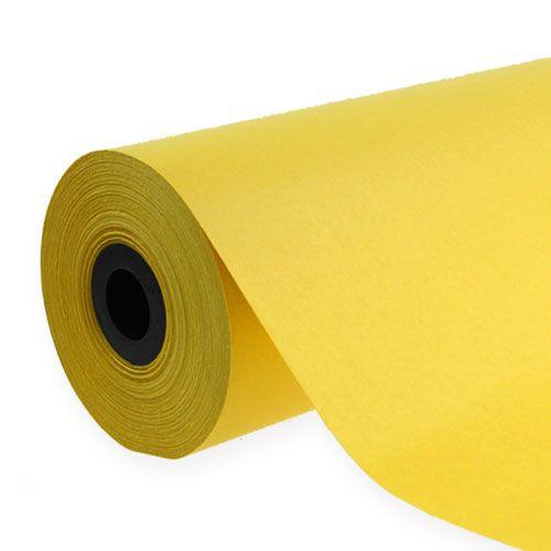 Manchetpapier 37,5 cm 100 m geel