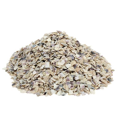 Schelpgranulaat 2mm - 3mm naturel 2kg