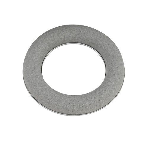 Steekschuimring krans grijs H3cm Ø20cm 6st