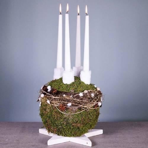 Steekschuim bal maxi bloemenbal Ø30cm