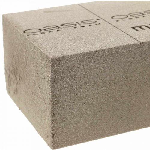 OASIS® NatureSource baksteen steekschuim 23cm × 11cm × 7cm 10st